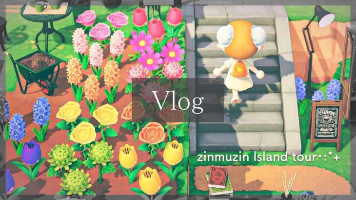 【Vlog】自然の中で様々な色が溢れる島をお散歩 – じんむじん島紹介【あつ森 | Animal Crossing】