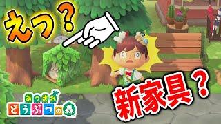 【あつ森】えっ?なんですかコレは!?新家具?【あつまれどうぶつの森/Animal Crossing】