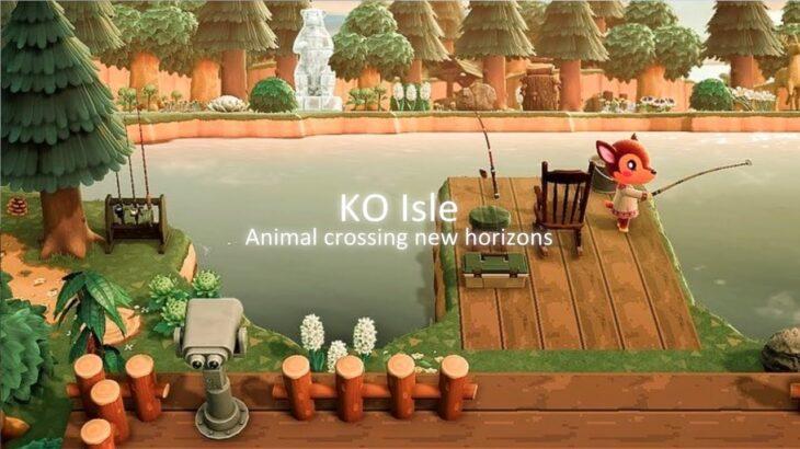 【あつ森】島紹介 KO island島 夢訪問【あつまれどうぶつの森】自然豊かで美しいKO island島を紹介します