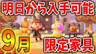 【あつ森】明日から入手可能な限定家具!久しぶりの家具がきたぞおおおおおお!【あつまれどうぶつの森/Animal Crossing】