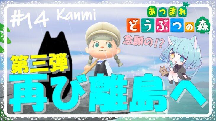 【#あつ森】男子勢を狙います。離島ガチャ第三弾!!【#あつまれどうぶつの森/Animal Crossing】【かんみ/らむねこ島】
